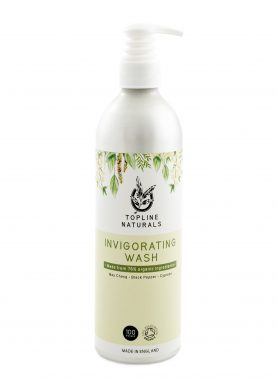 Invigorating Wash 500ml Bottle No-rinse Natural
