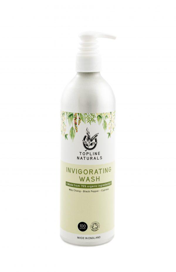Invigorating Wash 500ml Bottle No-rinse Natural